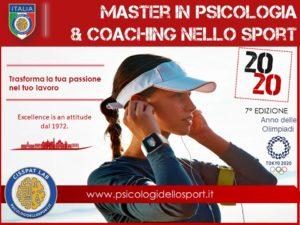 Master in Psicologia e Coaching dello Sport 2020 - PADOVA